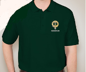 Henderson Clan Crest Embroidered Polo Shirt