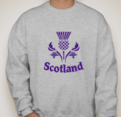 Thistle  Gray Sweatshirt