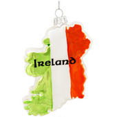 Ireland Country Shape Ornament