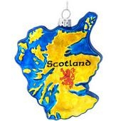 Scotland Glass Ornament