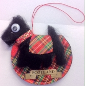 Scottie Dog Air Freshener Mascot