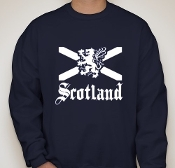 Scotland Navy Sweatshirt