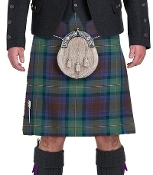 16 oz. Worsted Wool Tartan Kilt