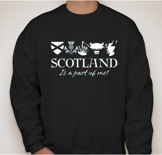 Scotland It's A Part of Me Sweatshirt