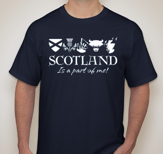 Scotland It's a Part of Me T-Shirt
