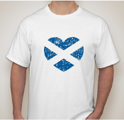 Scotland Heart T-Shirt