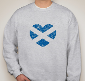 Scotland Heart Sweatshirt