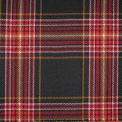 16 oz. Worsted Wool Fire Fighter Tartan Kilt
