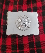 Fire Rescue Belt Buckle