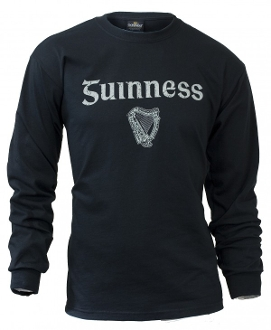 Guinness Gaelic Label Long Sleeve Tee