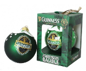 Guinness Green Collection Glass Bauble
