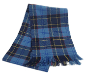 US Military & First Responder Tartan Scarf / Sash